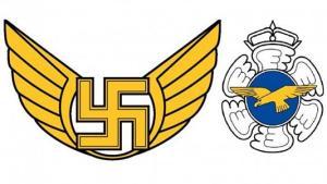Eltörlik a szvasztikákat a finn légierőnél