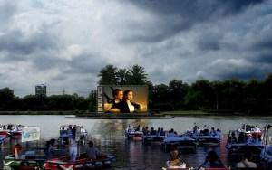 Úszó mozi készül Tel-Avivban