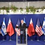 Háromoldalú találkozót tartott Jeruzsálemben Pompeo, Netanjahu és a bahreini külügyminiszter