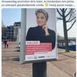 Hollandiában az iszlámot népszerűsítik nőnap alkalmából