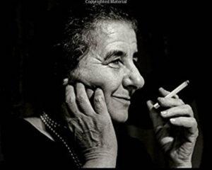 Golda Meir szerepében: Shira Haas