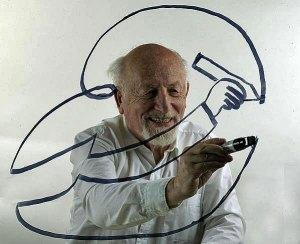 Ma 100 éve született Kaján Tibor karikaturista