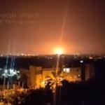 Rakétát lőttek az izraeli atomreaktorra