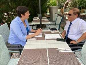 Dobrev Klára az izraeli nagykövettől kérte, hogy Izrael állam vizsgálja ki a Pegasus-botrányt