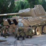 Második világháborús fegyverarzenált találtak egy német nyugdíjasnál, köztük egy 45 tonnás harckocsit