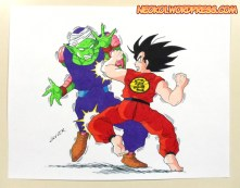 Goku vs Piccolo Traditional