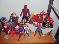 Superman, Figuras Marvel, Spawn