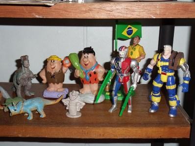 Picapiedras, Figuras Bootleg VR Troopers, Cable (X-Men), Ronaldo