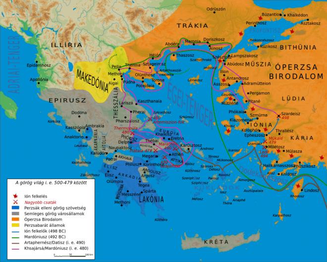 Görög ókori világ