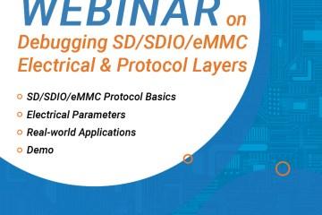 Webinaire debug SD SDIO eMMC
