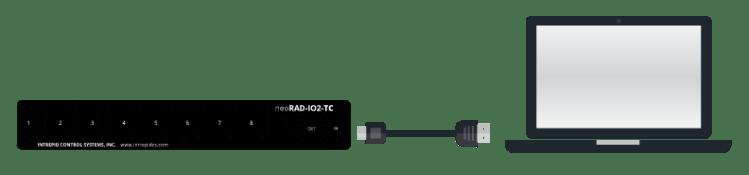 Connection USB à un PC