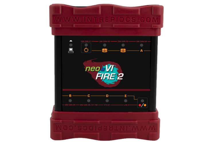 NeoVI FIRE 2 -CAN & LIN Interface and data logger