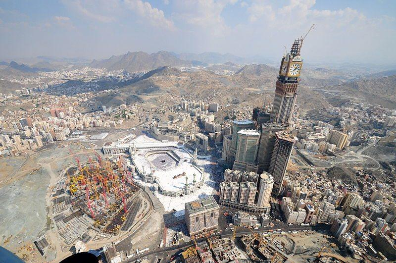 Abraj Al Bait: The third highest skyscraper in the world.