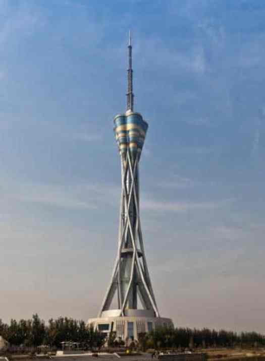 10. Zhongyuan Tower, China – 388 meters (1,273 ft) steel-made pinnacle in Zhengzhou, China. Opened in 2011. It is utilized as a TV tower, 200-visitor spinning eatery. what's more, perception tower, It was the most noteworthy steel structure tower on the planet for a brief span until the point when it was outperformed by Tokyo Skytree