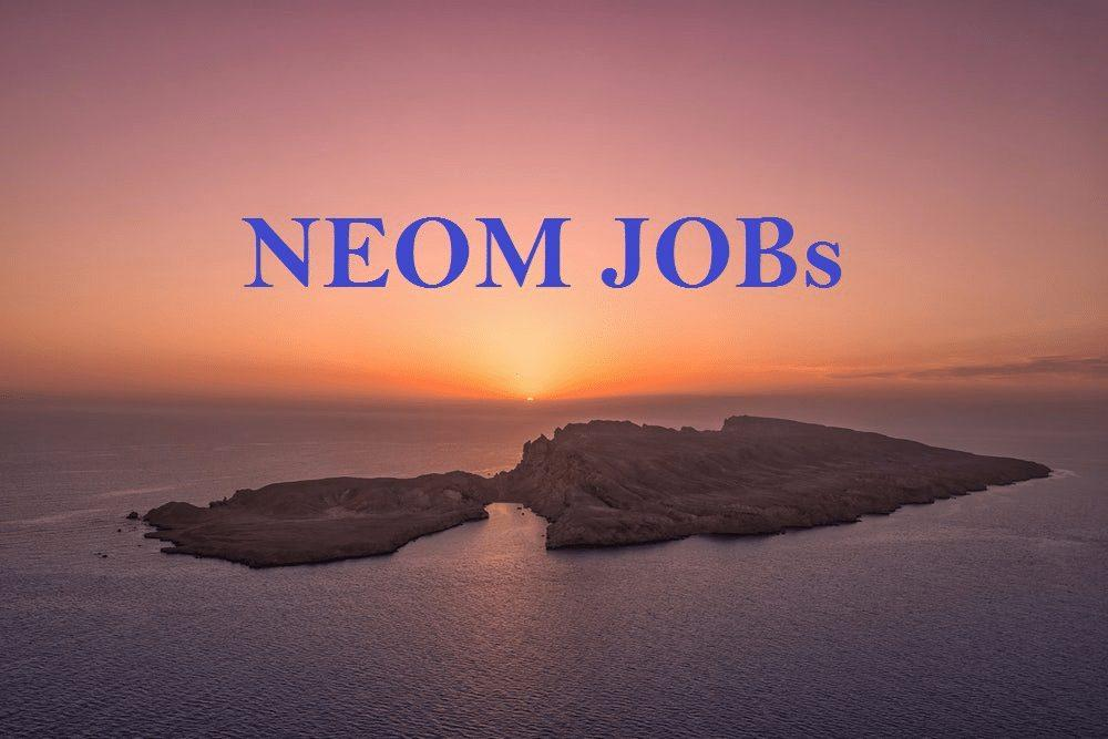 NEOM Jobs [Project Director 8000 EURO Salary]