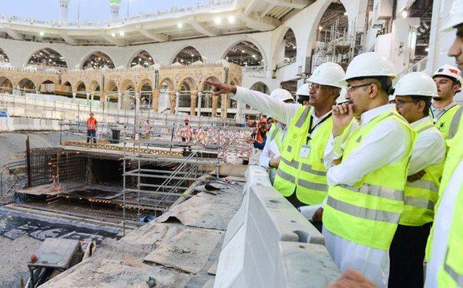 Completion of rehabilitation project of Zamzam well and opening Tuesday