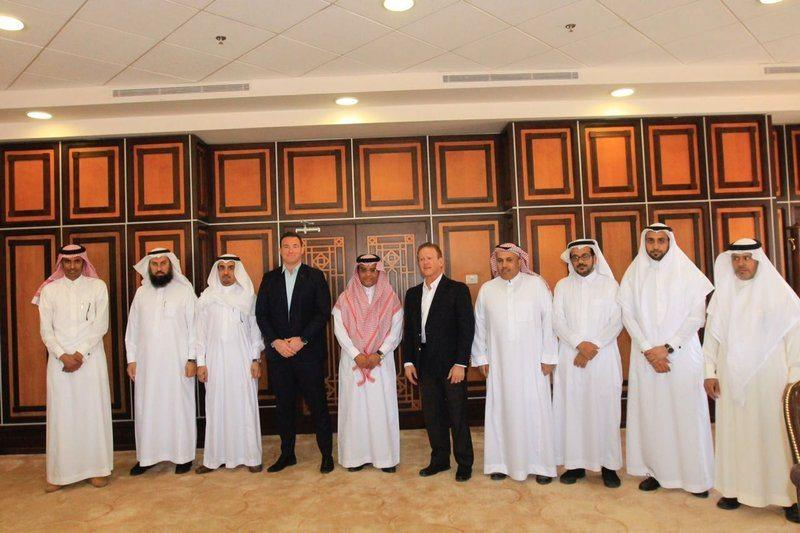 NEOM team visit University of Tabuk