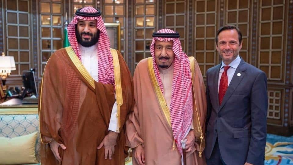 King Salman briefed on the Red Sea project