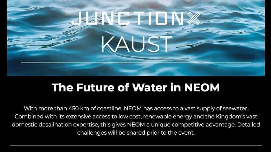 KAUST Hackathon [Solve NEOM challenges in food, water & energy] 3