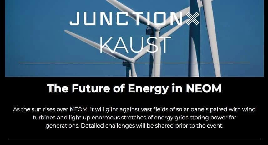 KAUST Hackathon [Solve NEOM challenges in food, water & energy] 1