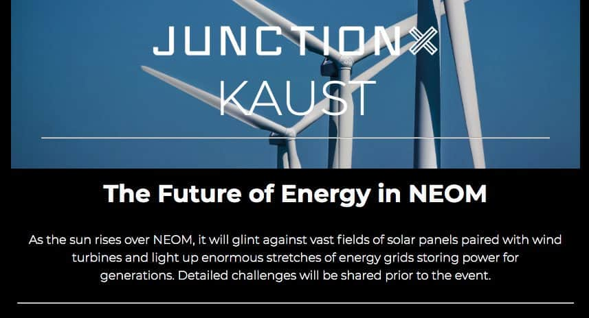 KAUST Hackathon [Solve NEOM challenges in food, water & energy] 1