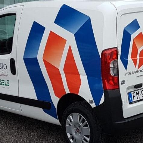 adesivi con stampa per autovetture
