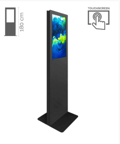 totem con display touch screen