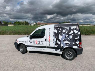 foto wrap furgone tricesimo