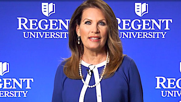 michele bachman organized the analyzing american election integrity conference