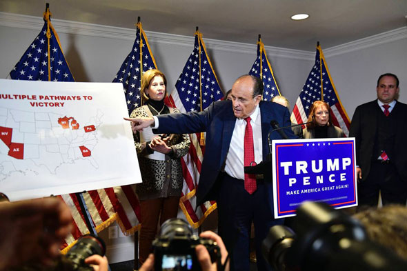 during the presser rudy giuliani detailed trump s pathways top victory