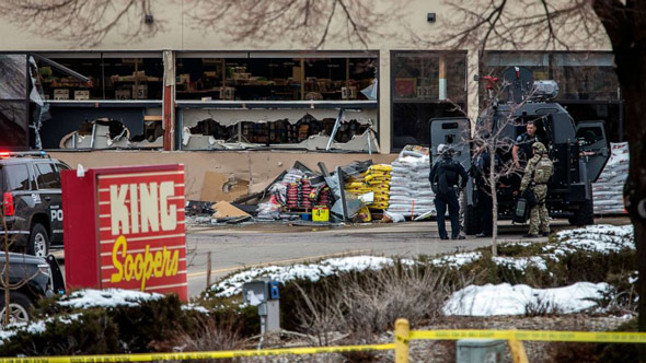 the shooting at king soopers supermarket in boulder  colorado  left 10 people dead