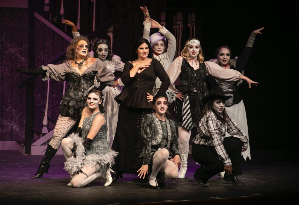 Aspire Community Theater's production of the Addams Family at the Kroc Center Theater