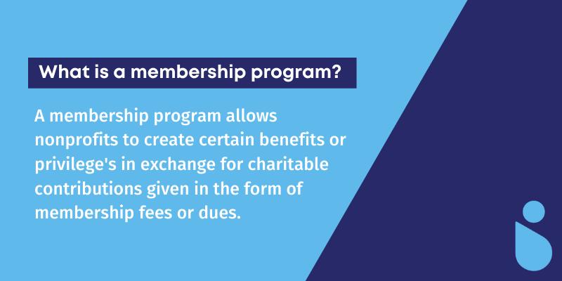 """What is a membership program?'"