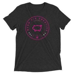 Hipster Pig T-Shirt