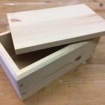 Lidded Softwood Box