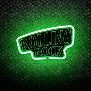 Rolling Rock 3D Neon Sign