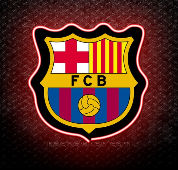 Barcelona FC 3D Neon Sign
