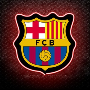Barcelona FC 3D Neon Sign