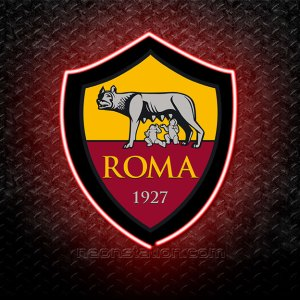 AS Roma 3D Neon Sign