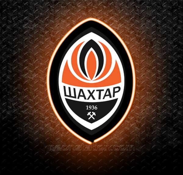 FC Shakhtar Donetsk 3D Neon Sign
