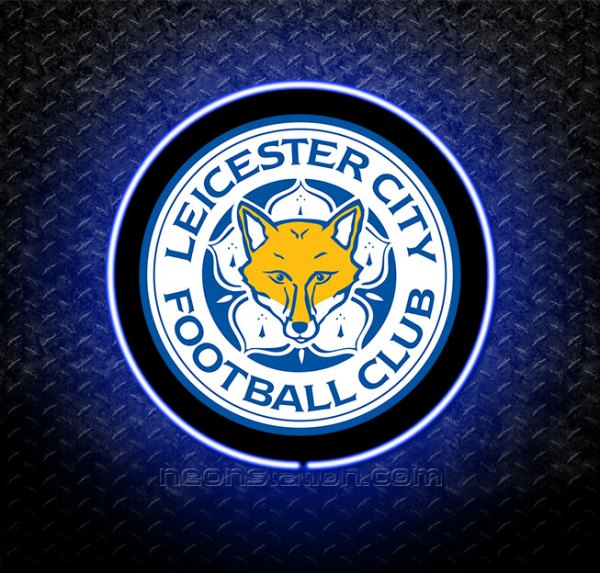 Leicester City 3D Neon Sign
