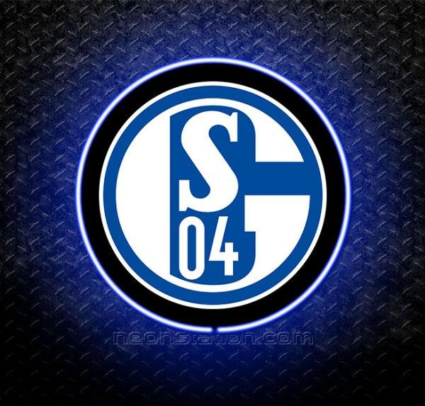 FC Schalke 04 3D Neon Sign