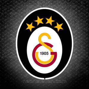 Galatasaray SK 3D Neon Sign