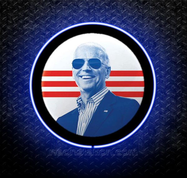 Joe Biden 3D Neon Sign