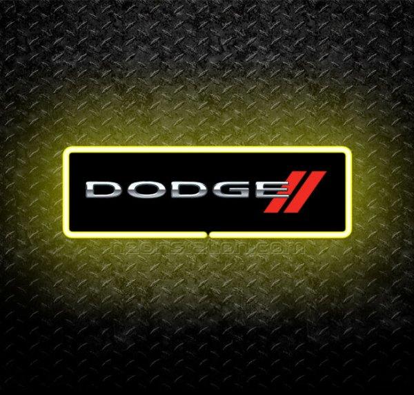 Dodge Badge 3D Neon Sign