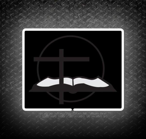 Baptist Church 3D Neon Sign