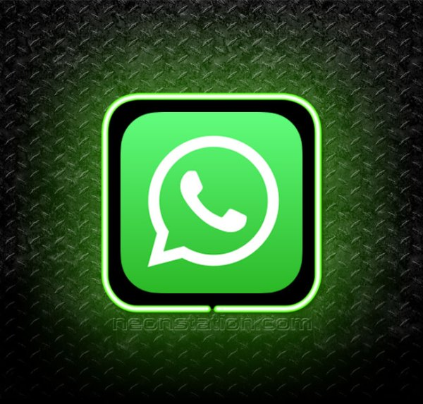 Whatsapp 3D Neon Sign