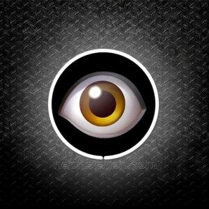 Eye Emoji 3D Neon Sign