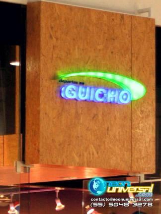 Logotipos luminosos de acrílico para interiores