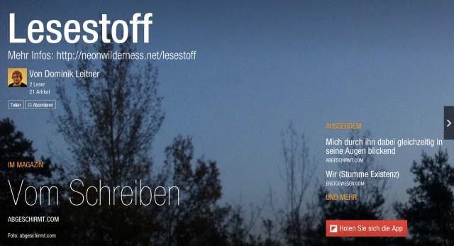 Lesestoff_-_Flipboard